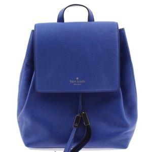 NWOT Kate Spade Grey Street Royal Blue Backpack
